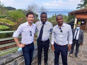 Le patron du PPE en visite à Mayotte