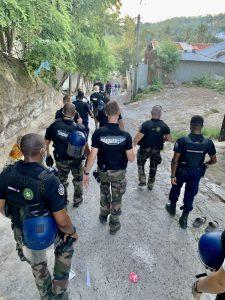 Une opération anti-délinquance menée dans les quartiers sensibles de Petite-Terre
