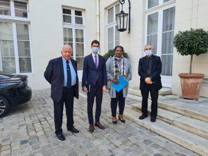 Le Medef Mayotte reçu au ministère de l'Outre-Mer