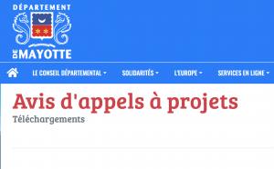 Le Département de Mayotte lance deux appels à projet : accompagnement des associations étudiantes et appui au développement international