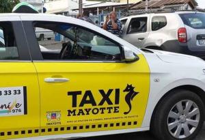 Les taxis de Mayotte vont s'habiller en jaune et blanc