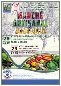 Un marché artisanal associé à un vide grenier pour 2 rendez-vous à Pamandzi