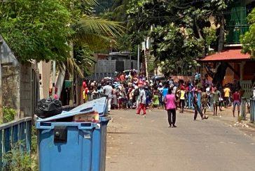 Doujani : émeutes au collège suite à la grève