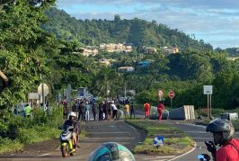 Passamainty : barrage ce matin et embouteillages