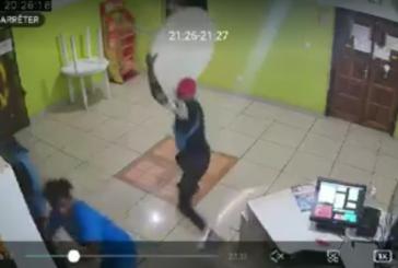 Vidéo : attaque du restaurant Mabawa wings de Combani