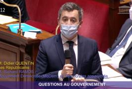 Gérald Darmanin a promis de venir à Mayotte avec Sébastien Lecornu