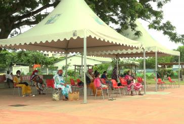 Pamandzi : un centre de dépistage temporaire dans le centre-ville