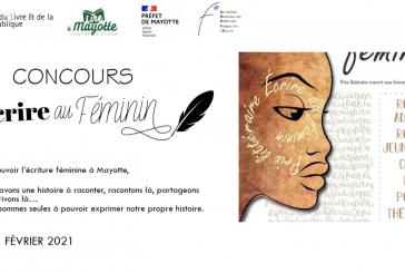 Lancement de la 2ème édition du Concours littéraire «Écrire au féminin» à Mayotte