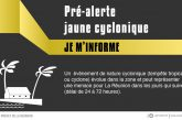 La Réunion en pré-alerte jaune cyclonique
