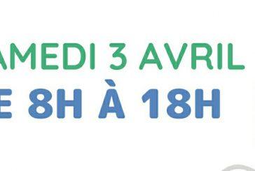 Pour rappel, l'ARS ouvre la vaccination pour tous ce samedi 3 avril, de 8h à 18h