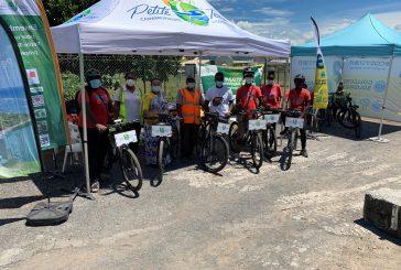15 vélos électriques pour les agents de la Communauté de Communes de Petite Terre