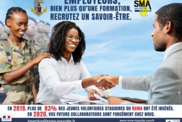 Le service militaire adapté fête ses 60 ans, et ses 33 ans à Mayotte