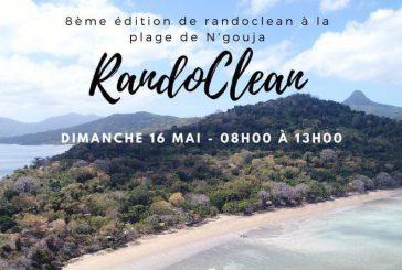 8ème édition de Randoclean à la plage de Ngouja, le 16 mai