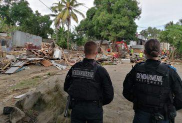48 cases ont été détruites au quartier Cétam ce matin