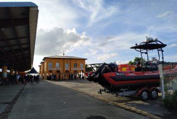 Passation de pouvoirs à la tête des sapeurs-pompiers ce matin à Mamoudzou