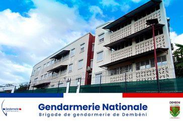 La gendarmerie de Dembéni déménage dans ses nouveaux locaux à Hajangua