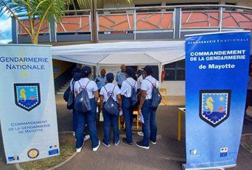 Le SNU prend position à Mayotte avec 43 volontaires dont 15 retenus par la gendarmerie