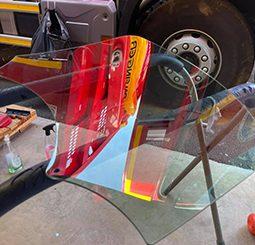 Tous les véhicules des pompiers équipés de films protecteurs