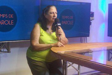 Ida Nel s'adresse aux nouveaux élus du conseil départemental