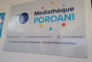 Poroani a inauguré sa toute nouvelle médiathèque