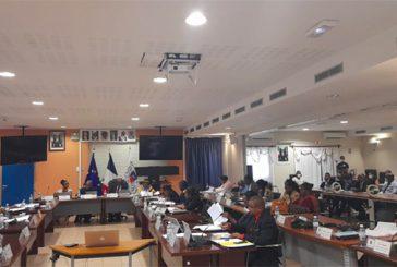 Une première séance plénière des conseillers départementaux réfugiés à la mairie de Mamoudzou