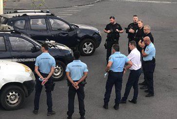 Thierry Suquet à la rencontre des effectifs de gendarmerie