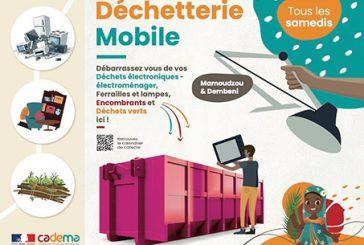 Nouveau programme des déchetteries mobiles de la Cadema