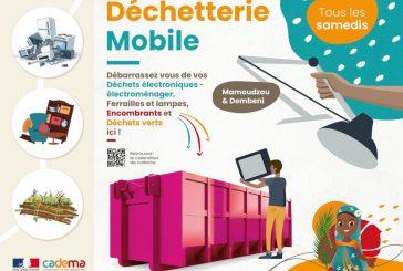Nouveau programme de la déchetterie mobile de la Cadema