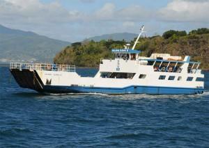 Bagarre sur la barge