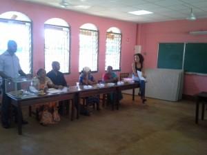 10h08 : 100 votants à Hajangoua