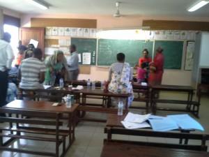 11h30 : 129 votants à l'école de Bandrélé