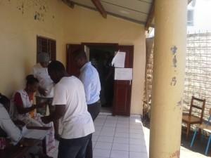 11h57 : 173 votants au bureau de vote n° 136 à Bandrélé