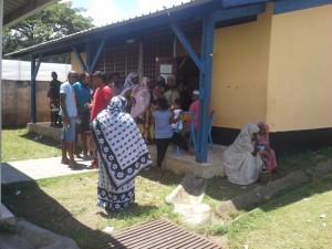13h22 : 299 votants à Chirongui Ecole primaire