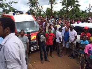 Combani : La population afflue