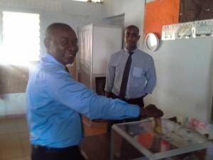 Issa Abdou a voté
