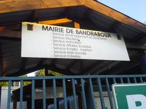 Mairie de Bandraboua bloquée