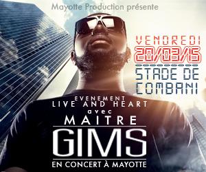 Tout savoir sur le concert de Maître GIMS à Mayotte