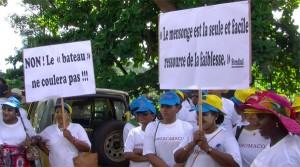 Manifestation des salariés de la Somaco (vidéo)