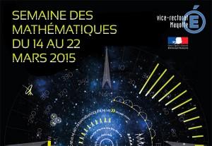 Semaine des mathématiques 2015