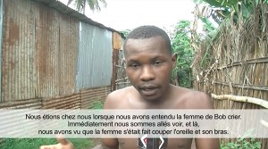 Combani : Premier témoignage (vidéo)
