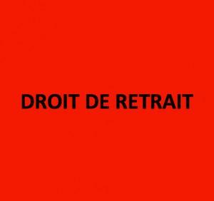 DROIT-DE-RETRAIT