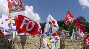 FO et CGT en force dans la rue (photos et vidéo)