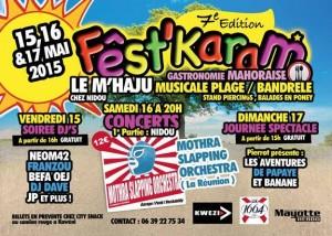 Ce week-end, le FEST'KARAM : Soirée DJ, concerts et spectacle