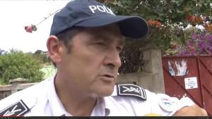 Le commissaire de police cambriolé la nuit dernière