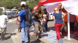 Insolite : quand les grévistes de SFR rencontrent ceux de la SMAE (vidéo)