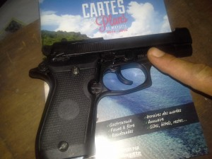 La législation sur les armes s'applique à Mayotte depuis le 1er janvier 2014