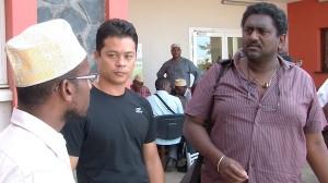 Les grévistes de l'ARS soutenus par leurs collègues de La Réunion