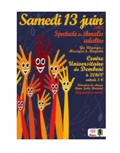 Concert des chorales Ya Utrunga et Musique à Mayotte le 13 juin à Dembéni