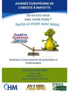 Journée européenne de l'obésité