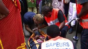 Un petit garçon sérieusement blessé dans un accident
